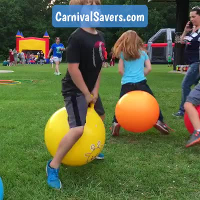 Watch and share Backyard Game GIFs and Bouncy Game GIFs by Carnival Savers on Gfycat