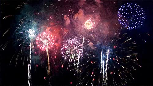 Watch and share Feux D'artifice GIFs by Sonia Lp on Gfycat