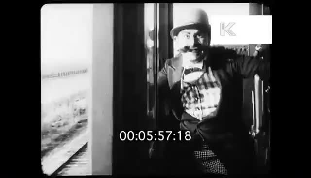 Watch and share 1910s Damsel In Distress Tied To Train Track, 35mm GIFs on Gfycat