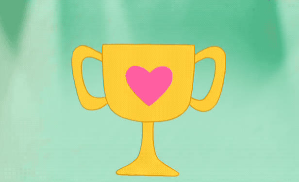 award, bare, bears, cartoon, close, come, eye, flirt, flirty, happy, heart, network, reward, show, smile, tada, up, we, wink, winking, Cartoon Network - Wink GIFs