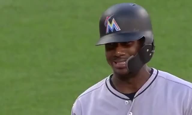 Watch and share Miami Marlins GIFs and Baseball GIFs by Ely Sussman on Gfycat