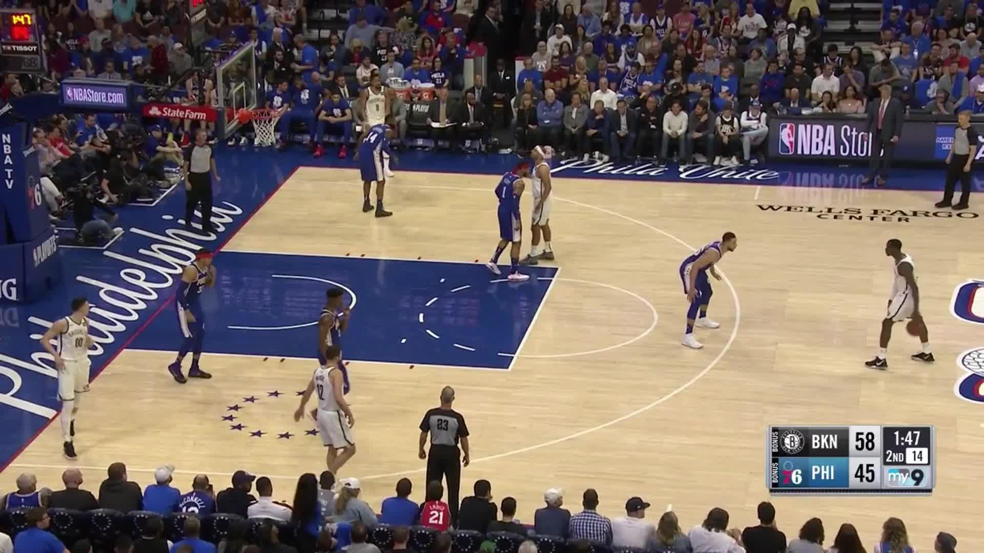 Ben Simmons, Brooklyn Nets, Philadelphia 76ers, basketball, Ben Simmons switch GIFs