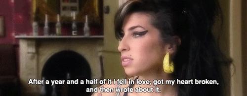 MBTI, amy winehouse, MBTI: Amy Winehouse - ESFP (x) GIFs