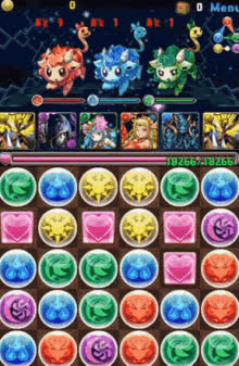 Puzzle And Dragons GIFs