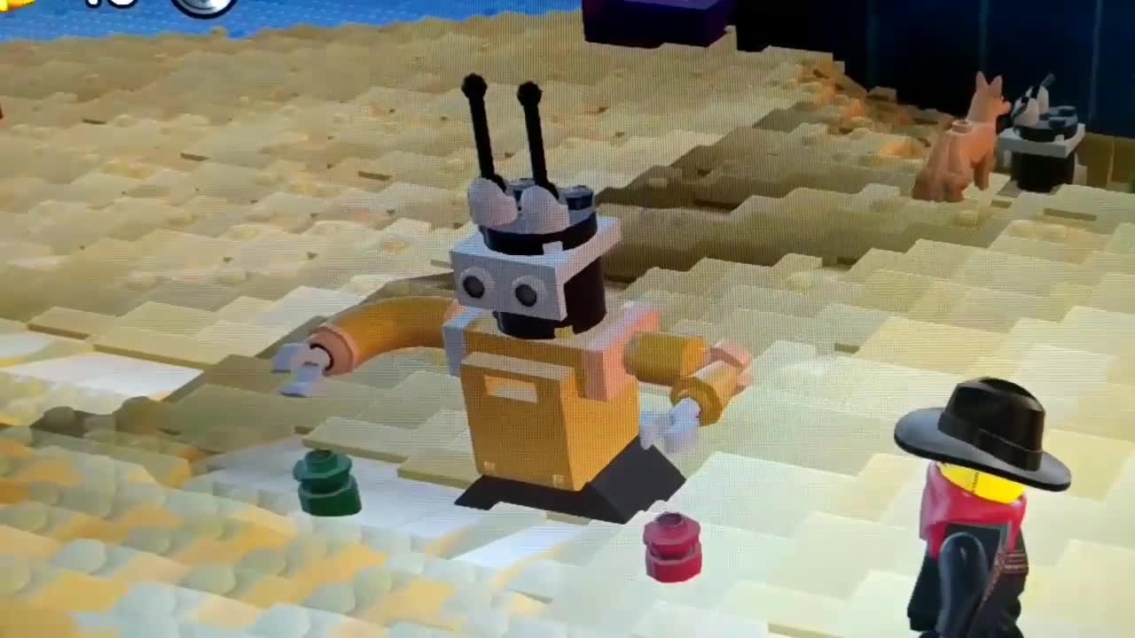 futurama, legogaming, legoworldsgame, Bender from Futurama in LEGO Worlds GIFs