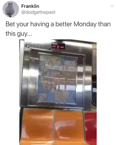 What could go wrong while sitting in a train - gif