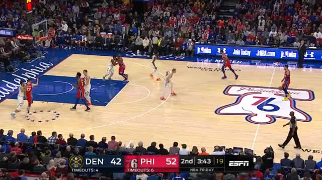 Watch jj GIF by @prejuce on Gfycat. Discover more Denver Nuggets, Philadelphia 76ers, basketball GIFs on Gfycat