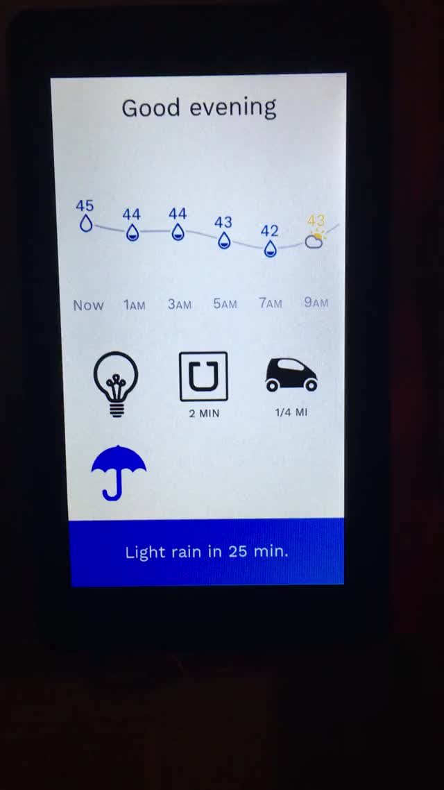 Watch Porter: my RPI touchscreen home control project (More info in comments) (reddit) GIF on Gfycat. Discover more raspberry_pi GIFs on Gfycat