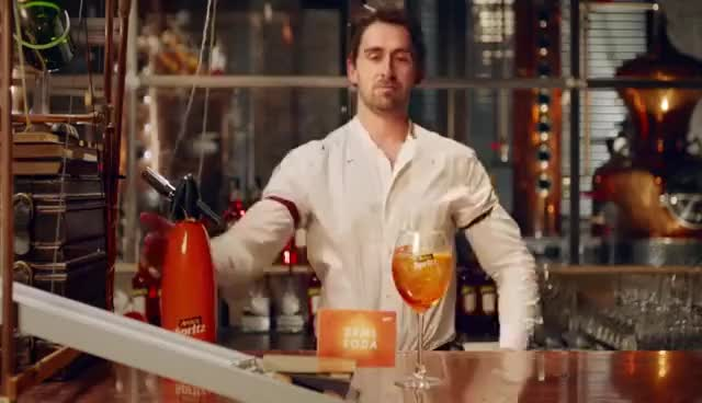 Watch Aperol Spritz Recipe: How to Make The Perfect Aperol Spritz Cocktail GIF on Gfycat. Discover more related GIFs on Gfycat