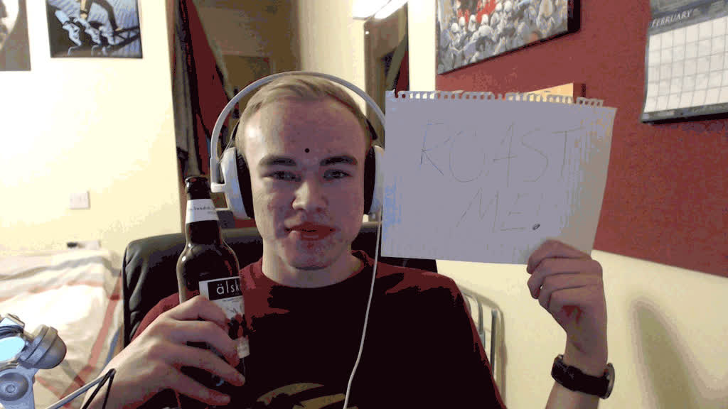 RoastMe, hilster GIFs
