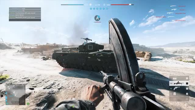 Watch bf5 tank GIF on Gfycat. Discover more related GIFs on Gfycat