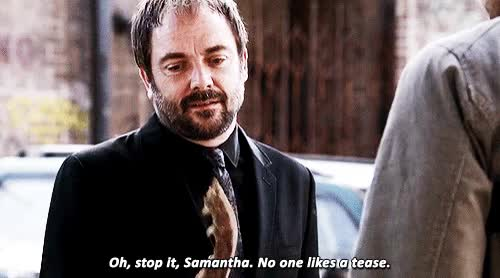 Watch and share We Should All Be As Sassy As Crowley! GIFs on Gfycat