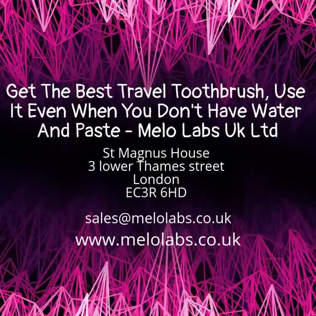 Watch and share Best Travel Toothbrush GIFs by Melo Labs Uk Ltd on Gfycat
