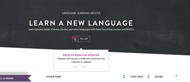 Watch and share Language Learning MOOCs Collection GIFs by Class Central on Gfycat