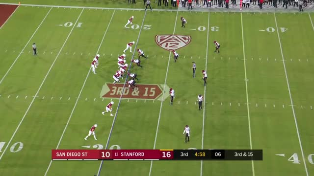 Watch and share Stanford Cardinal GIFs and San Diego State GIFs by sportsfanaticmb on Gfycat