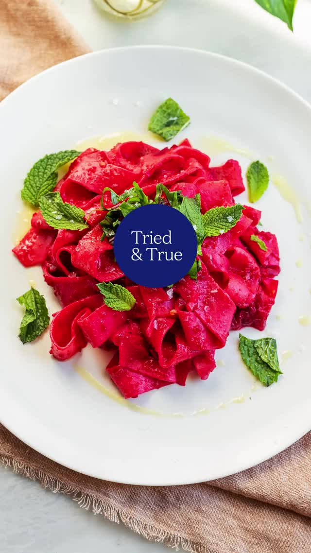 Watch and share Beet Pappardelle GIFs by triedandtruerecipes on Gfycat