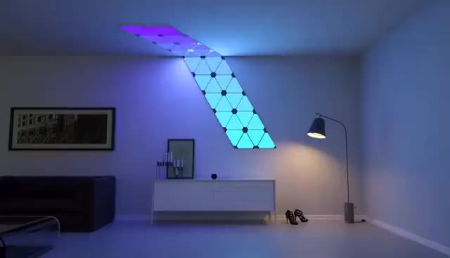 Watch Nanoleaf Aurora Teaser GIF on Gfycat. Discover more related GIFs on Gfycat