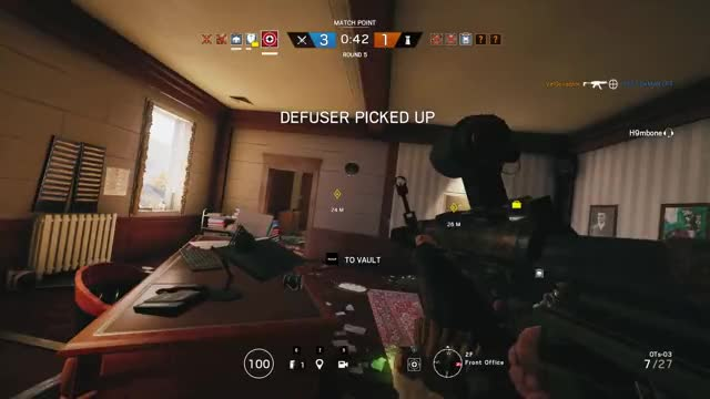 Watch and share Rainbow Six Siege GIFs and Gameplay GIFs by tfmd0618 on Gfycat