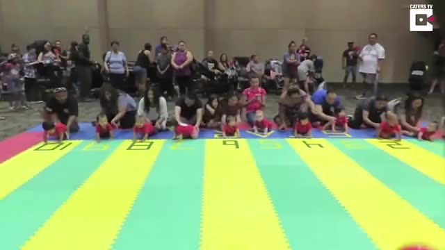 Watch Baby races GIF on Gfycat. Discover more RyanReynoldsWrap, babies, baby, catersnewsagency, caterstv, child, clips, speedy, toddler, tot GIFs on Gfycat