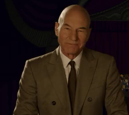 Watch and share Patrick Stewart GIFs and Aww GIFs by boh on Gfycat