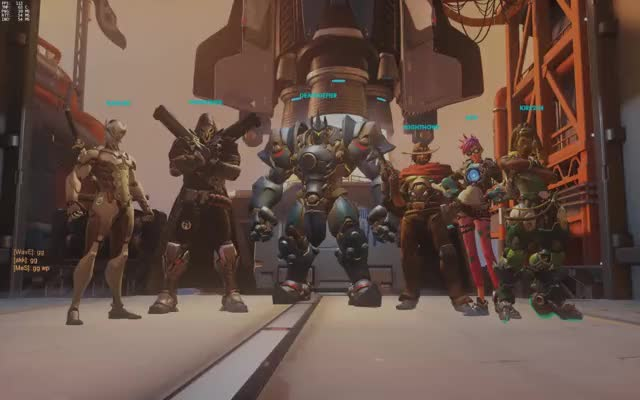 Watch Reinhardt Bowling GIF by @deathdefier on Gfycat. Discover more Overwatch, dashboard GIFs on Gfycat