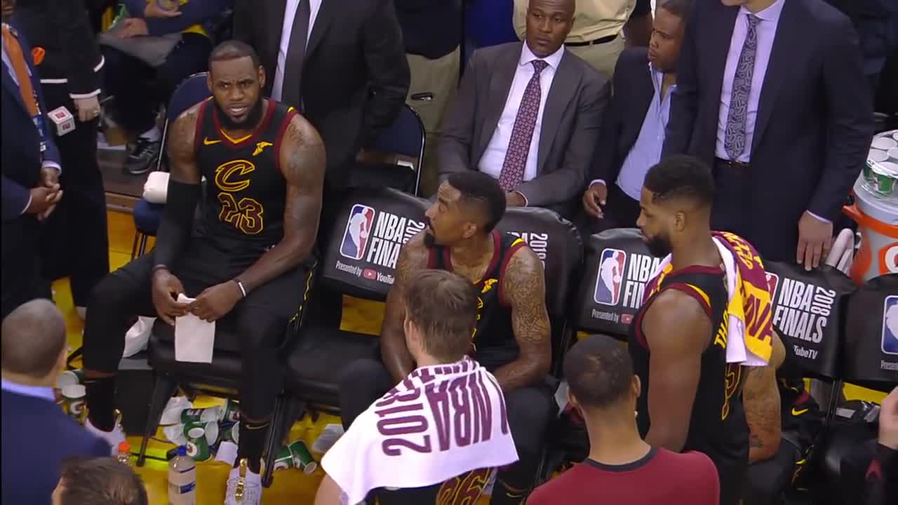 7470eb612be6  FULL  Uncut video of Cavaliers  bench before