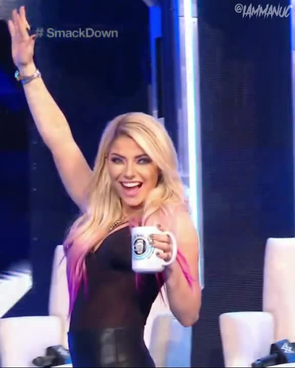 Watch and share Alexa Bliss GIFs and Wave GIFs by Vortexx on Gfycat