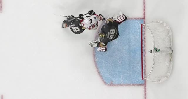 Watch and share Tkachuk Goalie Interference - VGS GIFs by Anthony Cook on Gfycat