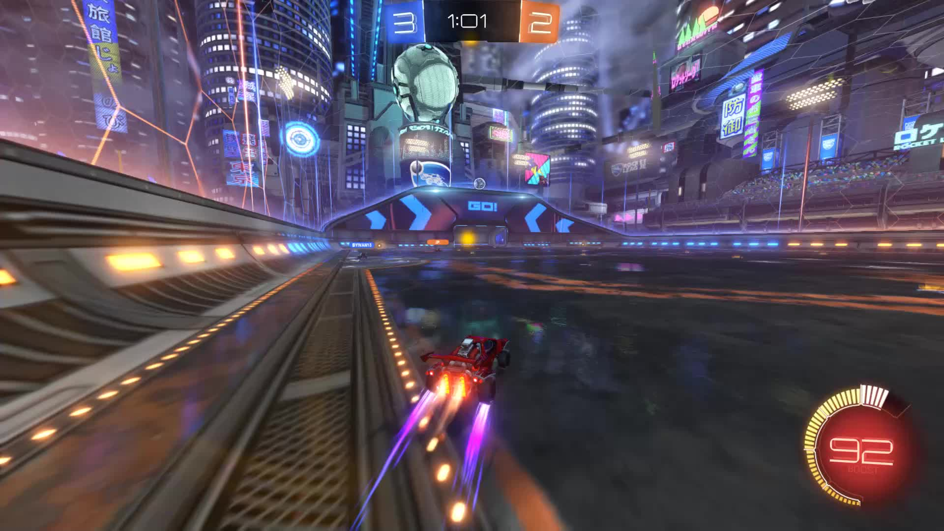 Gif Your Game, GifYourGame, Goal, Rocket League, RocketLeague, Squash, Goal 6: Squash GIFs