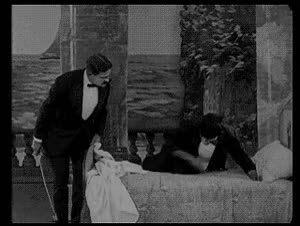Watch and share Buster Keaton Solves The Bedbug Problem, Animated GIF GIFs on Gfycat