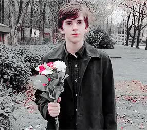 Watch and share Freddie Highmore GIFs and Bradley Martin GIFs on Gfycat
