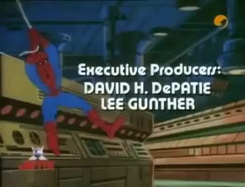 Watch Marvel Productions dedication logo GIF on Gfycat. Discover more Barney, Intro, Scary, YTP, bird, blu-ray, closing, columbia, deaf, ident, kidsongs, logo, nick, nickelodeon, nonstop, sesame, simpsons, sorry, thx, video GIFs on Gfycat