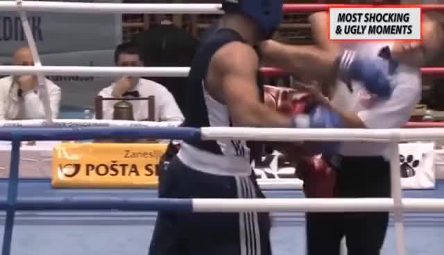 Watch Most Shocking & Ugly Moments in Boxing History GIF on Gfycat. Discover more related GIFs on Gfycat