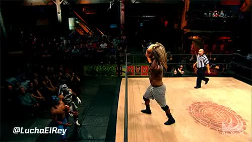 Watch Lucha Underground Outside Dives gifs : SquaredCircle GIF on Gfycat. Discover more related GIFs on Gfycat