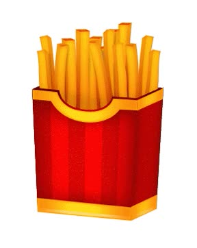 Watch and share Fries GIFs on Gfycat
