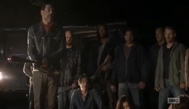 Watch and share The Walking Dead Season 7 Premiere - Glenn And Abraham Death Scene [HD] GIFs on Gfycat