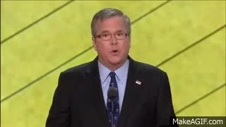 Watch Governor Jeb Bush GIF on Gfycat. Discover more related GIFs on Gfycat