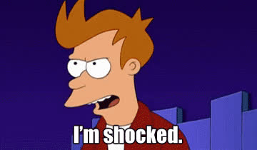 fry, fry futurama, fry shocked, futurama, shocked, Fry Futurama Shocked GIFs