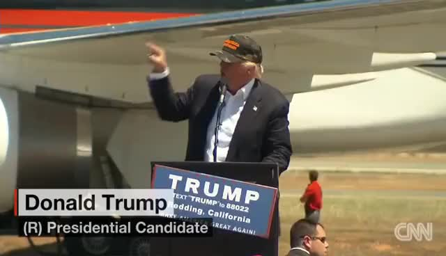 Watch and share Donald Trump: 'Look At My African-American Over Here... GIFs on Gfycat