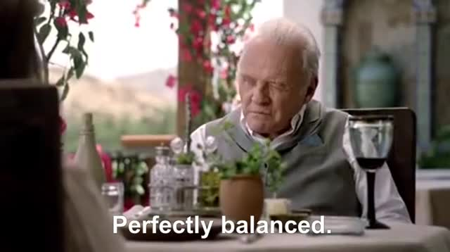 Watch Perfectly balanced. [WW s1e4] GIF by @brendand on Gfycat. Discover more anthony hopkins GIFs on Gfycat