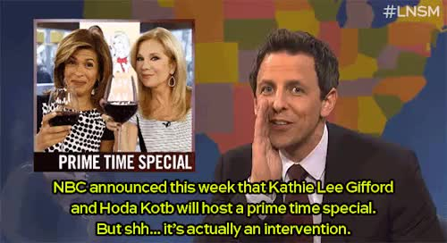 Watch and share Kathie Lee And Hoda GIFs and Kathie Lee Gifford GIFs on Gfycat