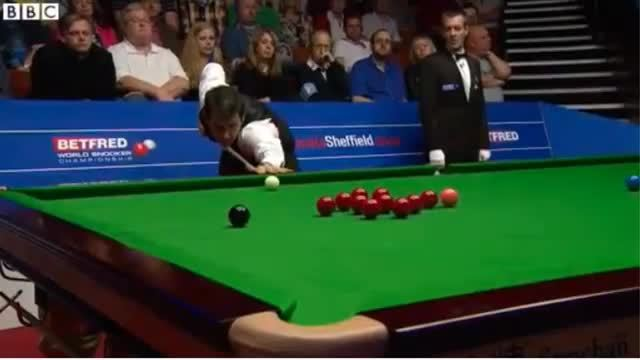 snooker, Ronnie O'Sullivan smashes his cue GIFs