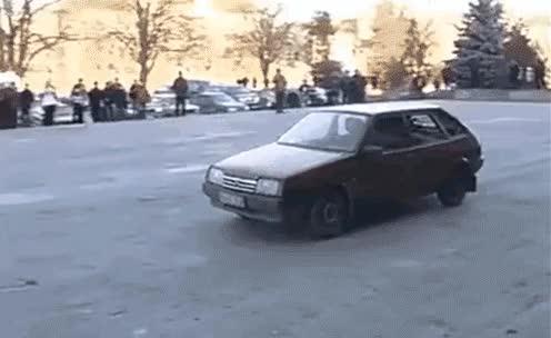 Watch and share Swat Action Lada Samara GIFs on Gfycat