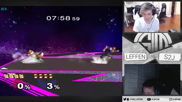 Socal Invasion: S2J - Leffen vs S2J Netplay
