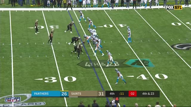 Watch this GIF on Gfycat. Discover more ' cam newton injured', ' cam newton sacked', ' cam newton', ' vonn bell sack', ' vonn bell', crossover, dunk, game, great, unreal GIFs on Gfycat