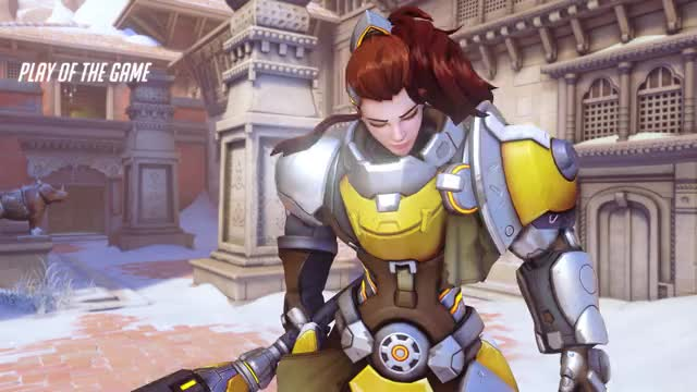 Watch and share Overwatch GIFs and Brigitte GIFs by vyrilgaming on Gfycat