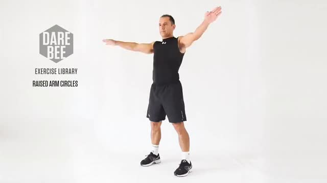 Watch and share Exercise Library: Raised Arm Circles GIFs on Gfycat