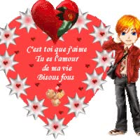 Watch and share Coeur animated stickers on Gfycat