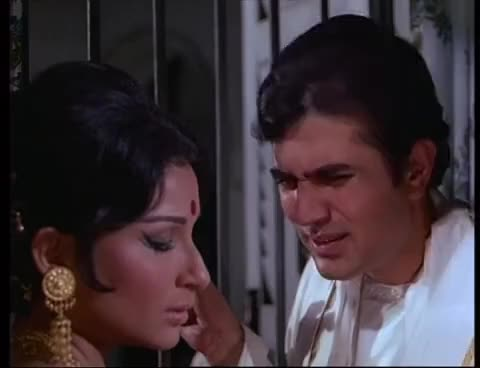 Watch Amar Prem - Pushpa I Hate Tears - Rajesh Khanna & Sharmila Tagore - Bollywood Hit Scenes GIF on Gfycat. Discover more related GIFs on Gfycat