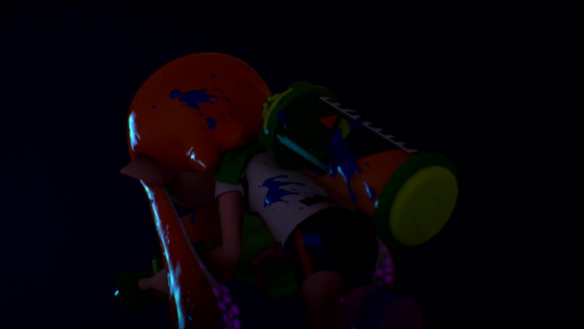 Splatoon Smash GIFs
